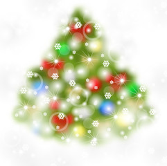 Blur fir background