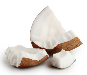 Break tender coconut