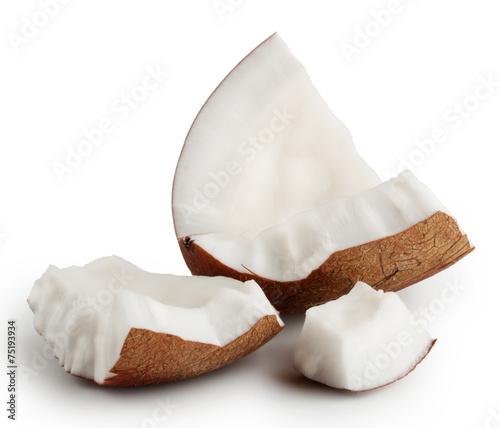 Keuken foto achterwand Boodschappen Break tender coconut