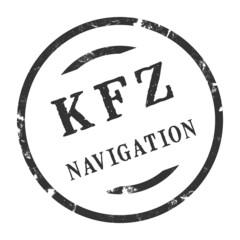 sk386 - KFZ-Stempel - Kfz Navigation kfz147 g2874