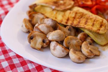 Grilled Tasty Vegetables