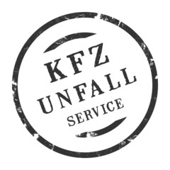 sk398 - KFZ-Stempel - Kfz Unfallservice kfz159 g2886
