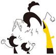 子供と口喧嘩する母親