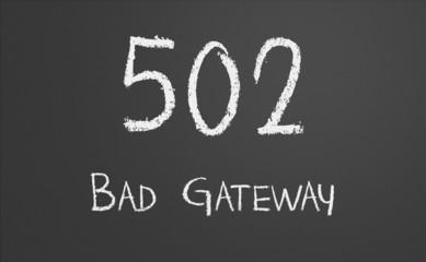 HTTP Status code 502 Bad Gateway