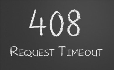 HTTP Status code 408 Request Timeout