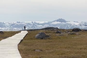 Ilulissat Ice Fjord, Greenland.