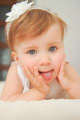 Portrait of Funny Girl