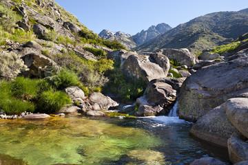 Garganta de Chilla en la Sierra de Gredos