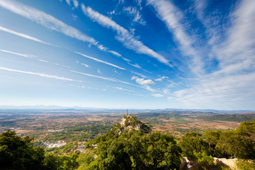 View from mount Sant Salvador, Mallorca