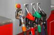 Leinwanddruck Bild - CNG gas pump