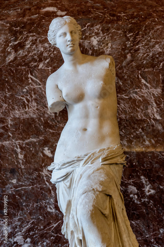 Foto op Plexiglas Standbeeld Venus of Milo