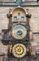 Historical Astronomical Clock, Prague, Czech Republic, Europe