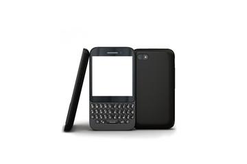mobile phone black