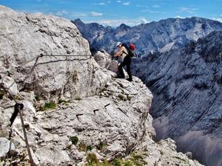 Klettersteig Mittenwalder Höhenweg