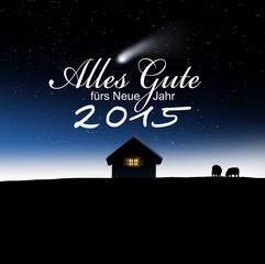 Alles Gute fürs Neue Jahr 2015