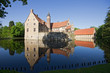 Leinwanddruck Bild - Burg Vischering in Lüdinghausen, NRW, Deutschland