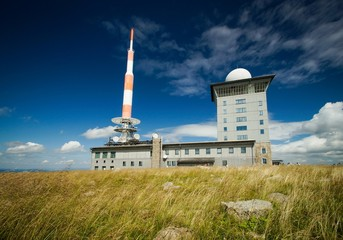 Funkturm - Abhörtechnik auf dem Brocken im Harz