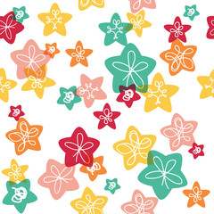 Seamless pattern for kids