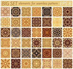 Big set elements for samples vector patterns