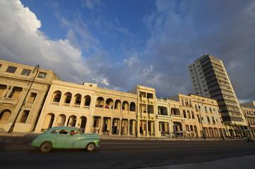 Havana Cuba Classic American Car on Malecon