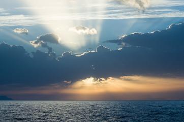 Se abrió un claro entre las nubes