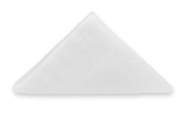 crinkled napkin