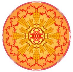Orange mandala for energy and power obtaining