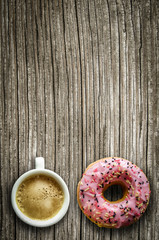 Coffee And A Donut