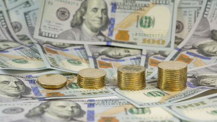 Rising the exchange rate of Ukrainian currency UAH for USD