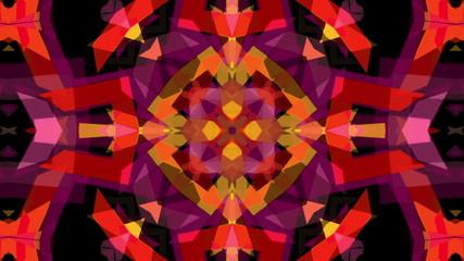 Animated background kaleidoscope