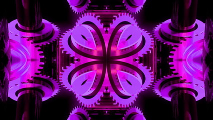 Animated background kaleidoscope