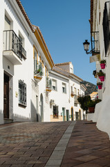 Street of Benalmadena, Andalusia, Spain