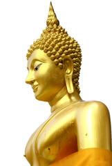 Golden Thai Buddhism Statue