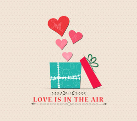 Valentine's Day love is in the air with open gift