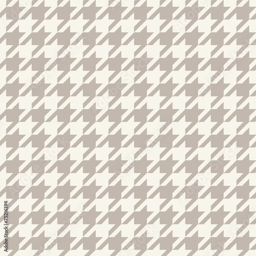 Pied de Poule checks. Hounds-tooth seamless vector pattern - 75216394