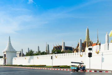 The Wat Phra Kaew(Temple of the Emerald Buddha),Bangkok,Thailand