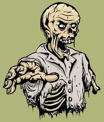 Rotting Killer zombie