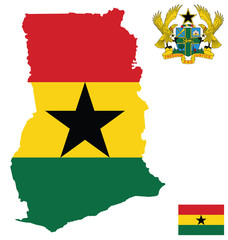 Republic of Ghana Flag