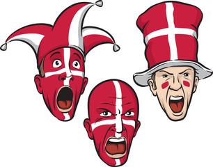 football fans from Denmark