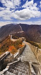 China Great Wall Stairs Vertical