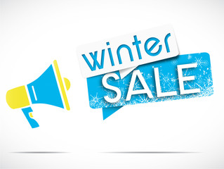 megaphone : winter sale