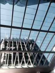 skylight of modern building