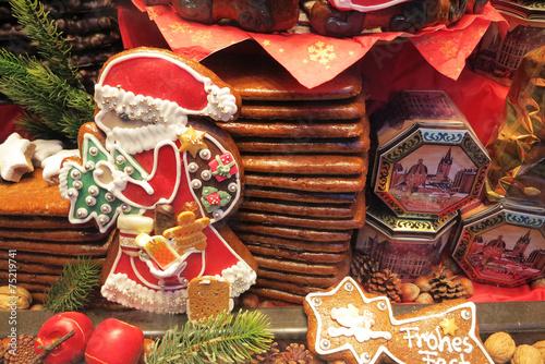 Aachener Printen auf dem Weihnachtsmarkt - 75219741
