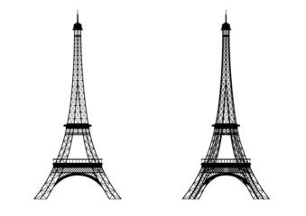 「エッフェル塔」のイラスト素材