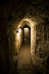 Acre, Israel - The Templar Tunnel