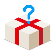 order a package of various goods - vector stock