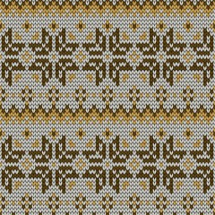 color knitted seamless pattern. 10 eps