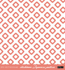 eps Vector image:hishimon Japanese pattern