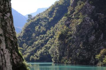 Komani lake Albania