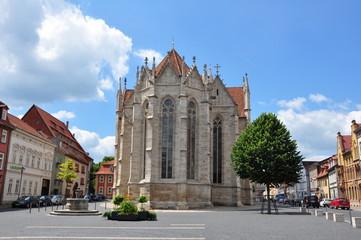 Untermarkt in Mühlhausen / Thüringen
